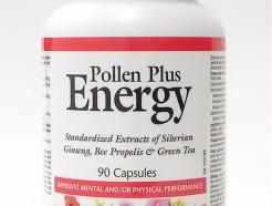 pollen plus energy, 90 caps (natural factors)