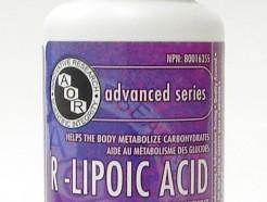 r-lipoic acid, 150mg, 90 vcaps (aor)