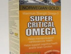 norwegian gold super critical omega, 30 fish gels (renew life)