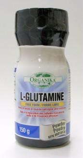 l-glutamine, powder, 150 g (organika)
