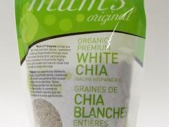 organic premium white chia , whole, 300g (mum's original)