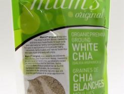 organic premium ground white chia, 180g (mum's original)