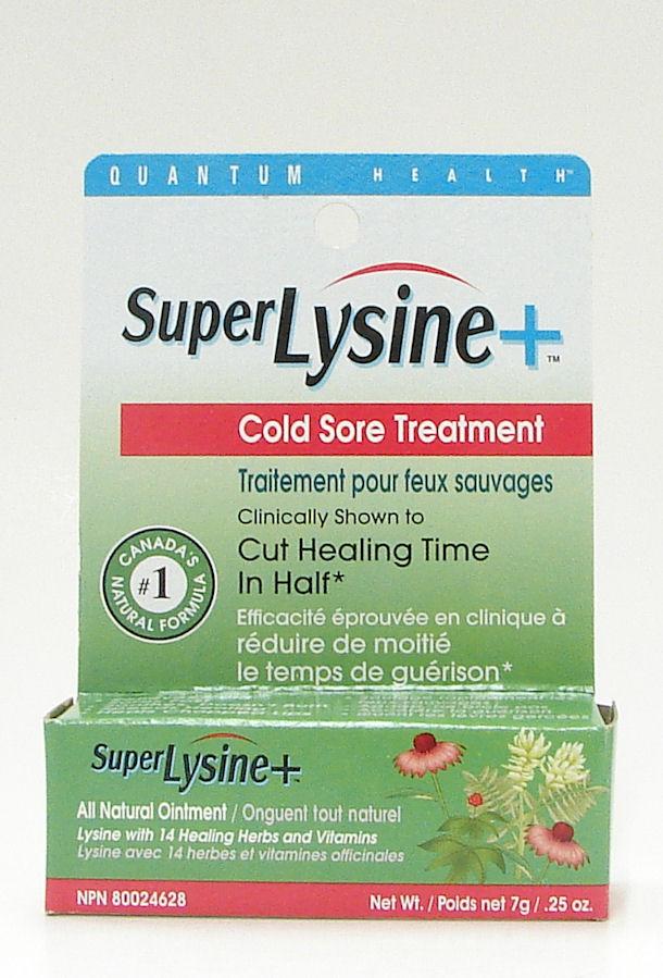 super lysine+ cold sore treatment, 7 g (quantum)