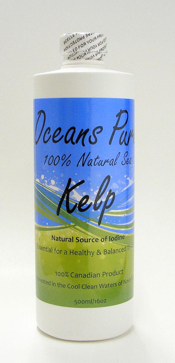 oceans pure 100 natural sea kelp 500 ml renewal wellness