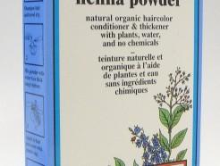 ash brown henna powder, natural organic hair color, 60 g (colora)
