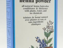 chestnut henna powder, natural organic hair color, 60 g (colora)