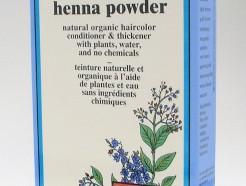 gold brown henna powder, natural organic hair color, 60 g (colora)