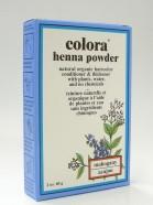 mahogany henna powder, natural organic hair color, 60 g (colora)