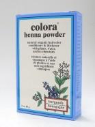 burgundy henna powder, natural organic hair color, 60 g (colora)