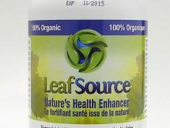 LeafSource, Nature's Health Enhancer 120 v caps