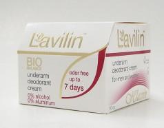 Lavilin Bio underarm deodorant cream for men and women, 10cc (hlavlin industries)