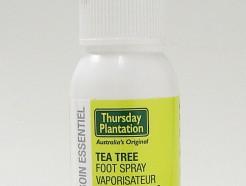tea tree foot spray, 50 ml (thursday plantation)