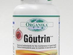 göutrin, gluten free, 60 vegetarian capsules (organika)
