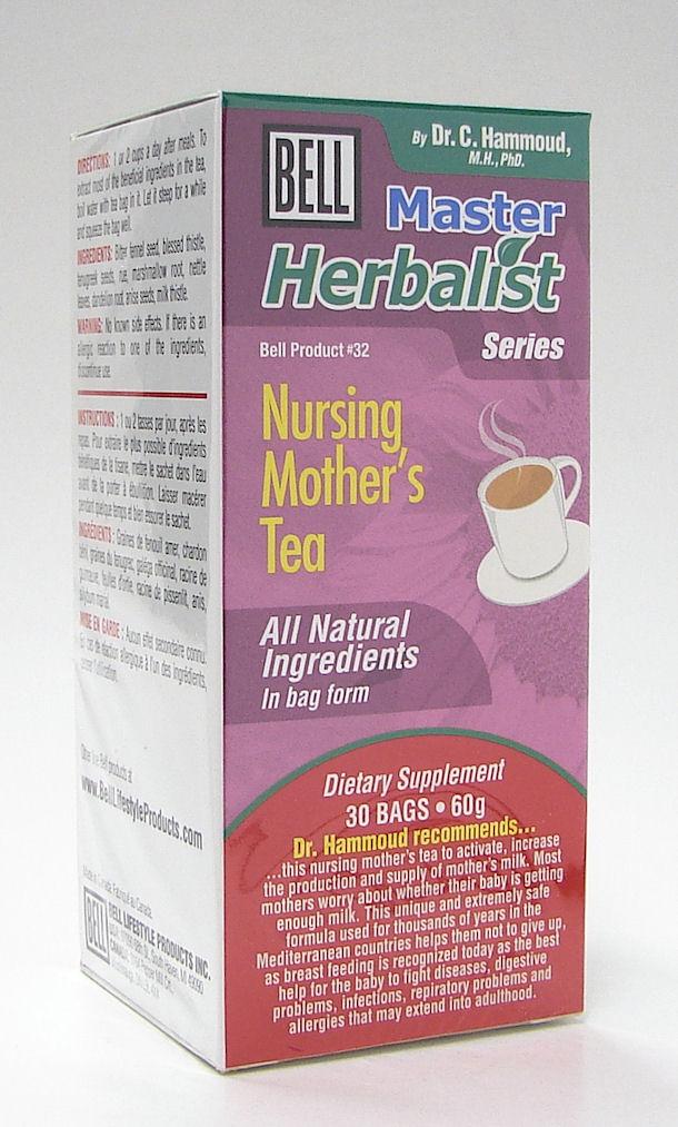 bell #32 nursing mothers tea (bell lifestyle)