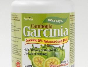 Garcinia Cambogia 100% natural, high potency 750 mg, 60 vegetable capsules (herba)