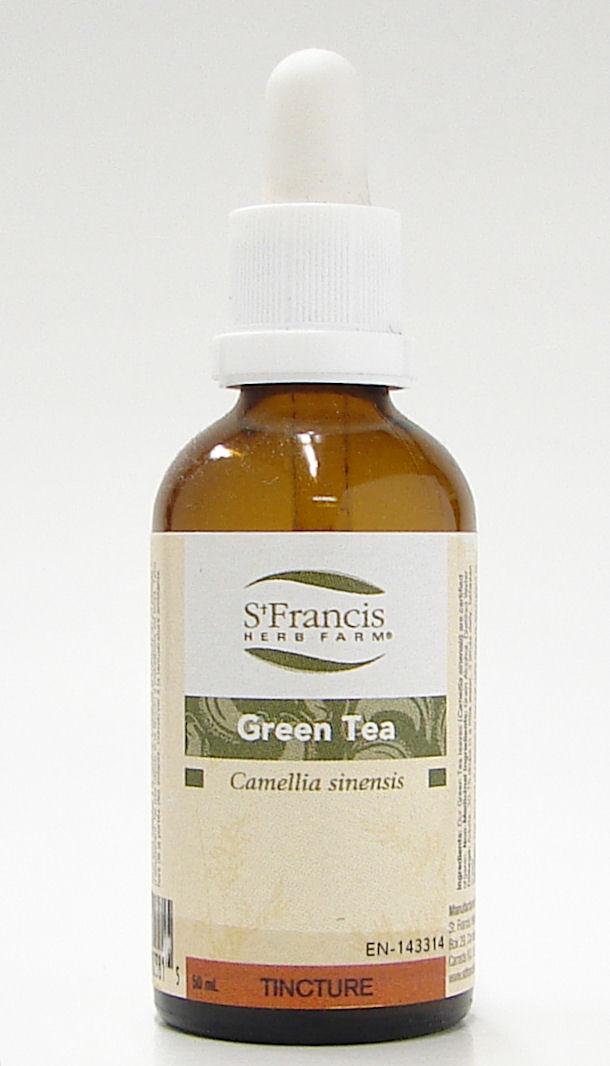 green tea, 50 ml (st francis)