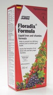 salus floradix formula liquid iron and vitamins formula, 250 ml (flora)