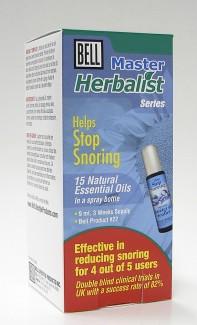 bell master herbalist #22 helps stop snoring, 9 ml (bell lifestyle)