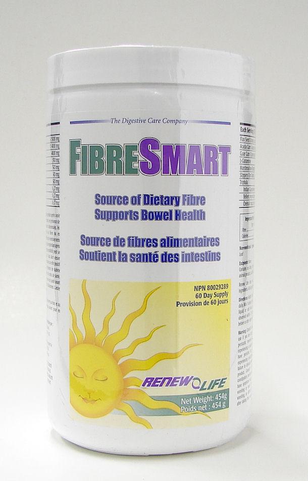 fibreSmart, 454 g powder (Renew Life)