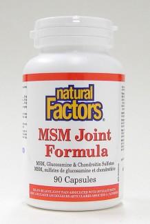 msm joint formula, 90 caps (natural factors)