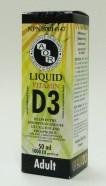 vitamin D3 liquid, 50 ml (aor)
