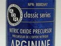 arginine (L-arginine), 600 mg, 180 tabs (aor)