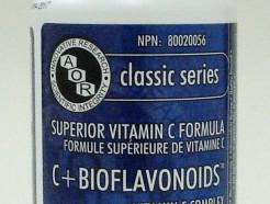 c + bioflavonoids 925 mg, 100 v-caps (aor)