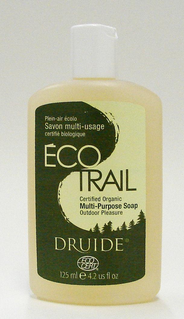 Eco Trail certified organic multi-purpose soap, 125 ml (Druide)