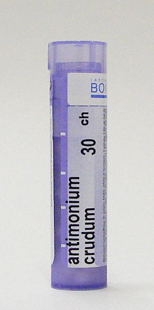 antimodium crudum 30 ch sublingual pellets (boiron)