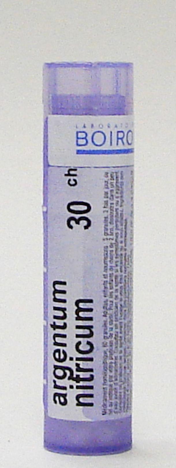 argentum nitricum 30 ch sublingual pellets (boiron)