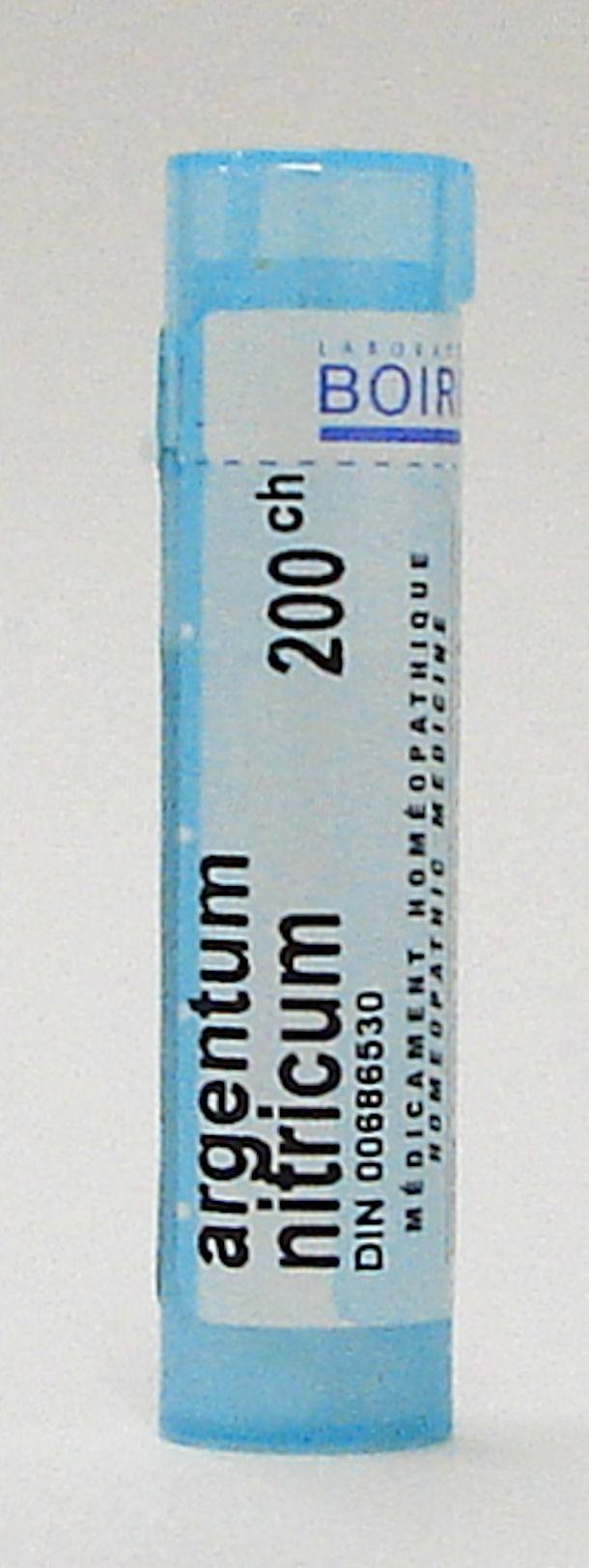 argentum nitricum 200 ch sublingual pellets (boiron)