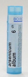 arsenicum album 6 ch sublingual pellets (boiron)