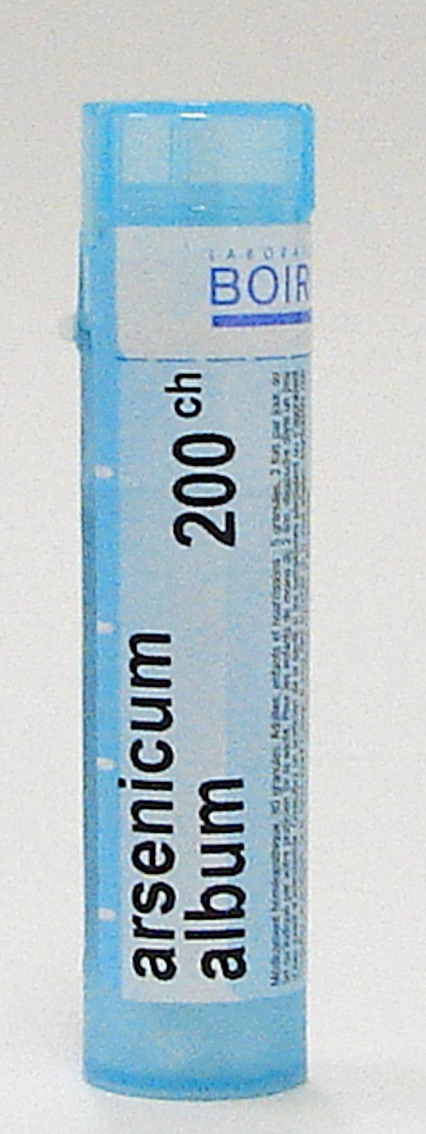 arsenicum album 200 ch sublingual pellets (boiron)