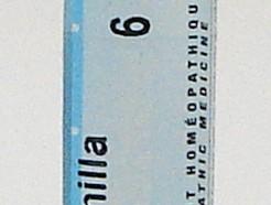 chamomilla vulgaris 6ch sublingual pellets (boiron)