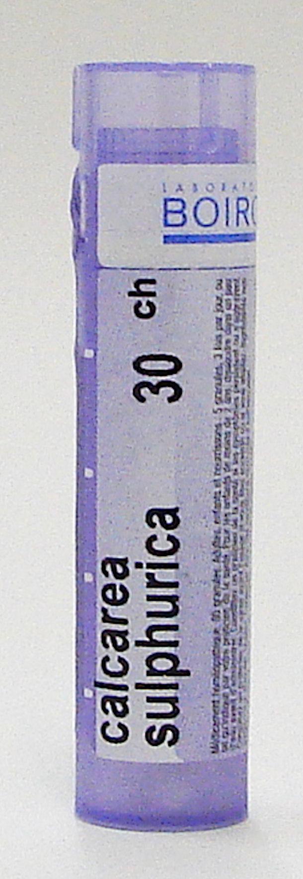 calcarea sulphurica 30ch sublingual pellets (boiron)