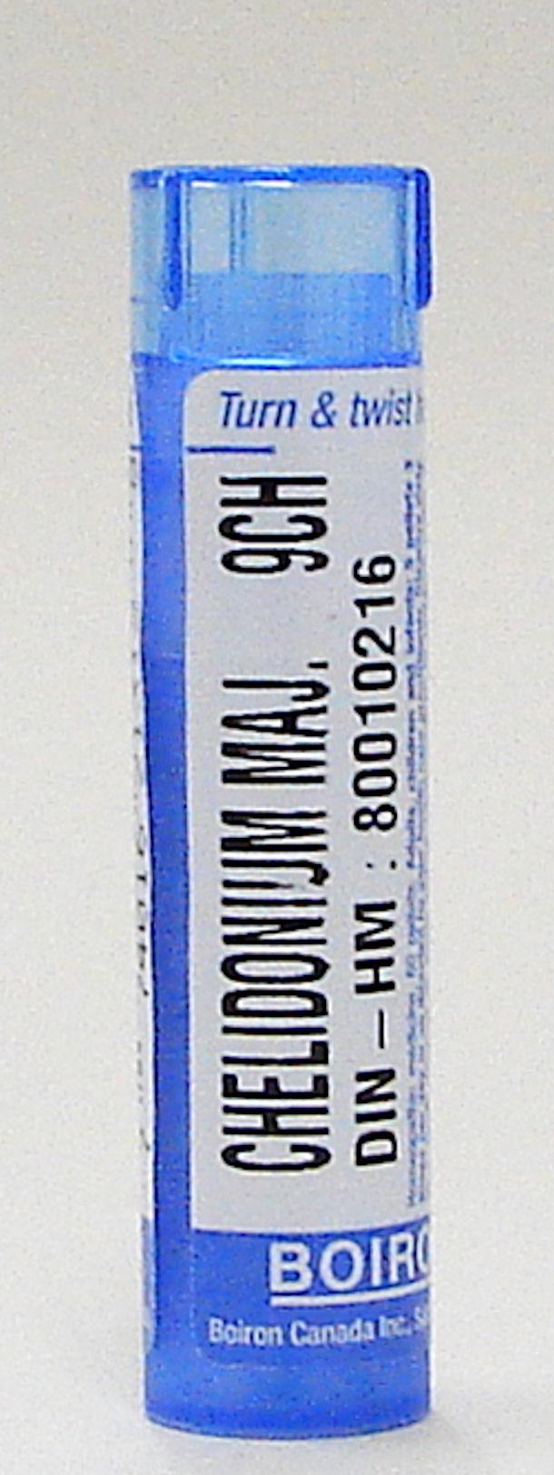 chelidonium majus 9ch sublingual pellets (boiron)