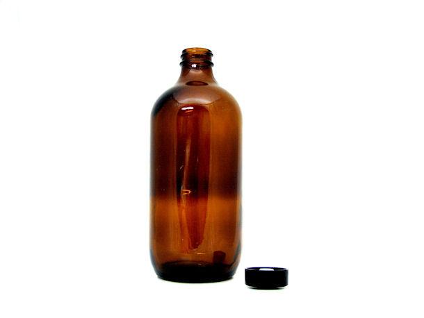 16 oz. brown (amber) glass bottles (Caisse formula)