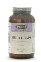 Multi Caps, Iron-free, 90 vcaps (Flora)