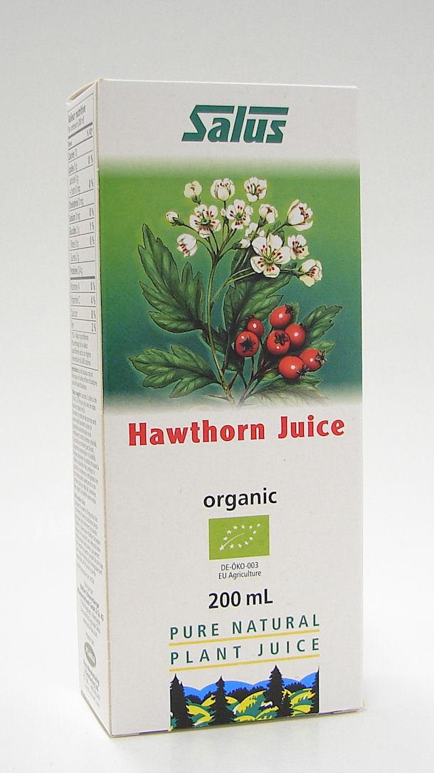Salus Organic Hawthorn juice, 200 ml (Flora)