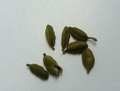 cardamom, green, organic, (whole)