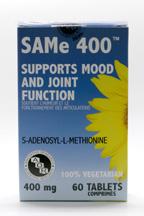 SAMe, 400 mg, 60 tablets (AOR)