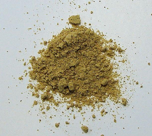 organic ginger (ground)