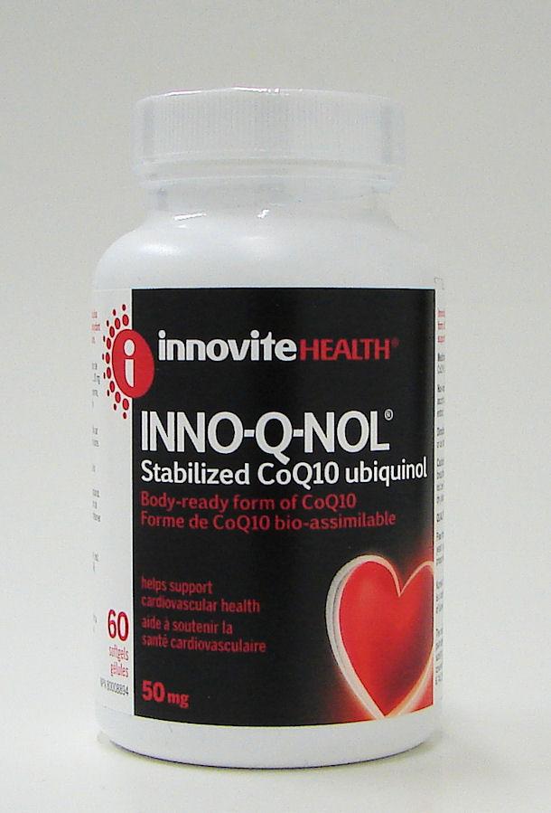 Co Q10 INNO-Q-NOL, 50 mg, 60 softgels (Innovite)