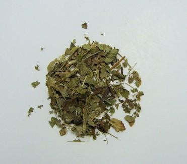 bilberry leaf , organic, (c/s)
