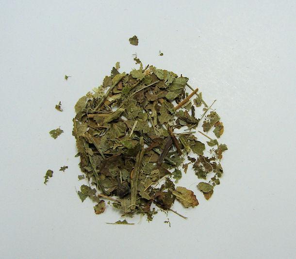 bilberry leaf , (c/s)