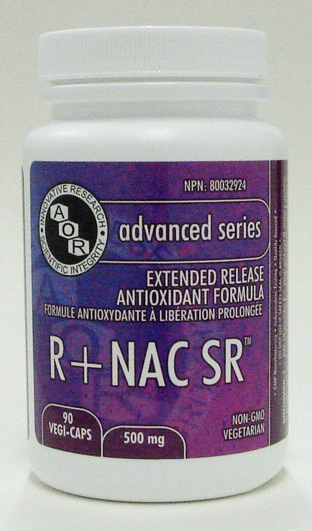 R+ NAC SR, 150 mg, 60 vegi-caps (AOR)