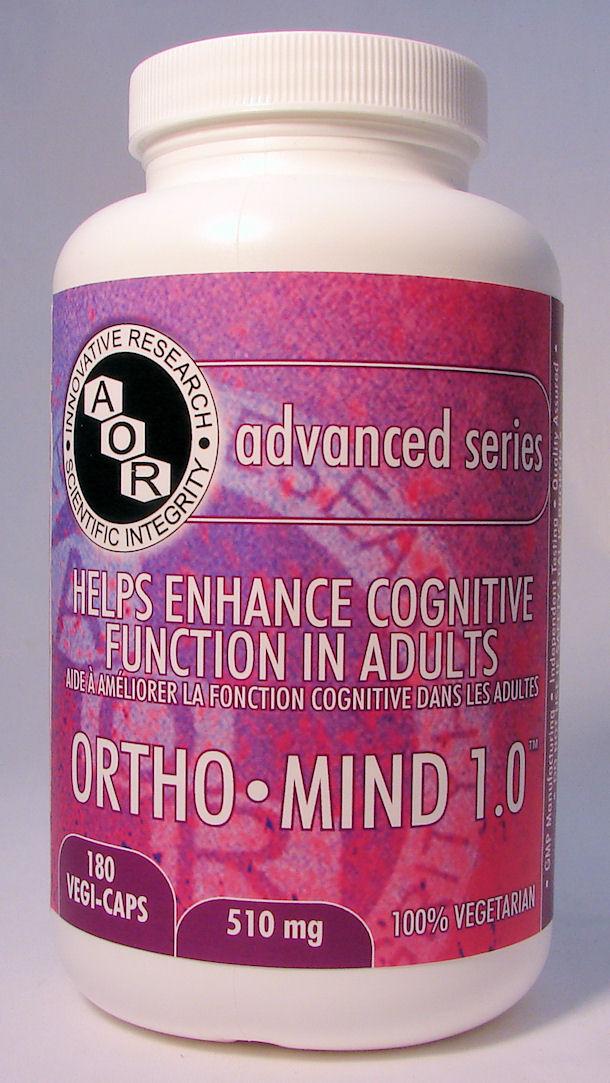 Ortho-Mind 1.0, 503 mg, 180 vcaps (AOR)
