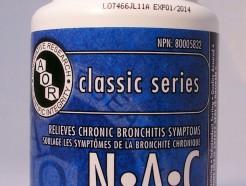N.A.C (N-Acetyl-L-Cysteine), 500 mg, 120 vegicaps (AOR)