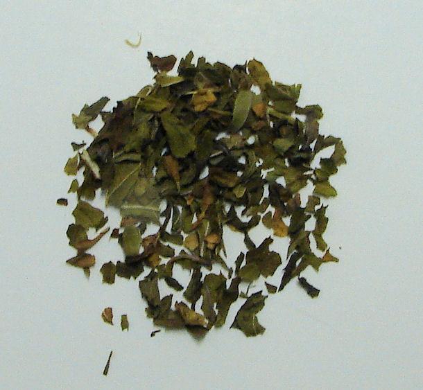peppermint leaf; organic (c/s)