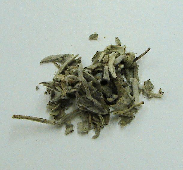 sage leaf, organic, whole